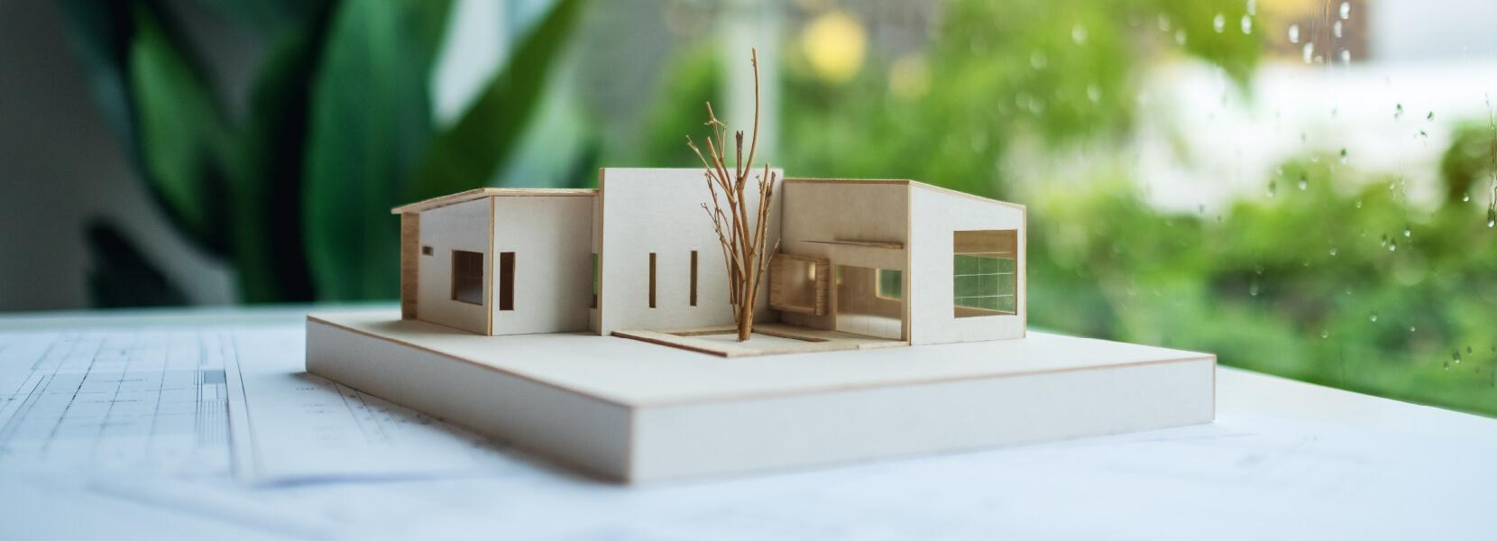Chi siamo Green Systems srl progetti green modellino casa